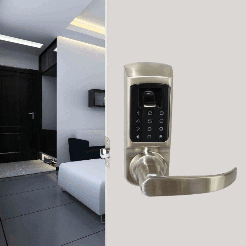 NEU Burglar-Proof Elektronisches Schloss Digital Smart Fingerprint Password Lock